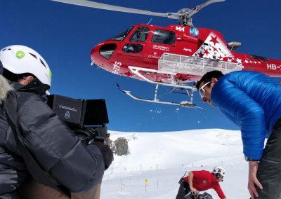 Hubschrauber Videoproduktion Zürich